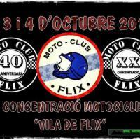 XX Concentració motociclista Vila de Flix