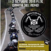 XXI Concentració Motociclista Vila de Flix 2016