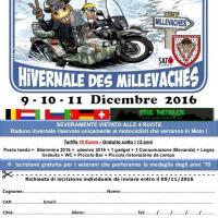 Concentration motocycliste hivernale internacionale Les Millevaches 2016