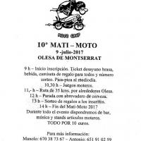 X Matí-Moto Olesa de Montserrat