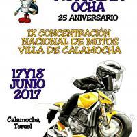 IX Concentración motorista nacional Villa de Calamocha