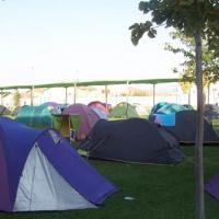Zona acampada