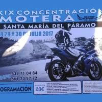 XIX Concentración motera Santa María del Páramo