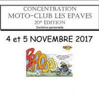 XX Concentration moto club les Epaves
