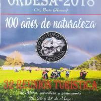 XXXII Reunión turística de motos Ordesa 2018
