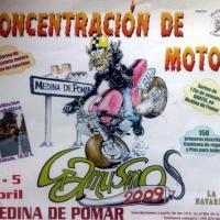 II Concentración de motos Gamusinos 2009