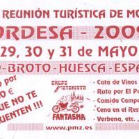 XXIII Reunión turística de motos Ordesa 2009