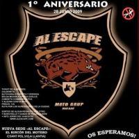 I Aniversario Al Escape