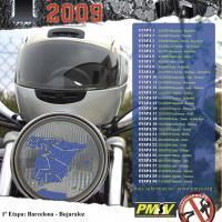 I Vuelta a España en moto por la seguridad vial 2009