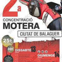 II Concentració motera Ciutat de Balaguer