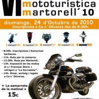 VI Matinal mototurística Martorell