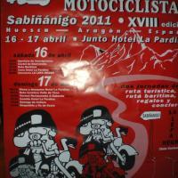 XVIII Concentración motociclista Sabiñánigo
