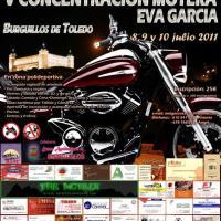 V Concentración motera Eva García