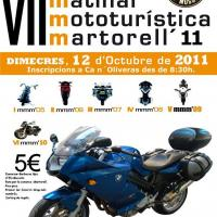 VII Matinal mototurística Martorell