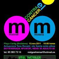 I Matinal motera a Badalona contra el cancer infantil