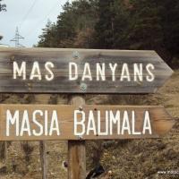 Salida a la masia Mas Danyans