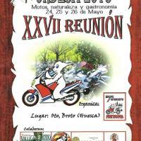 XXVII Reunión turística de motos Ordesa
