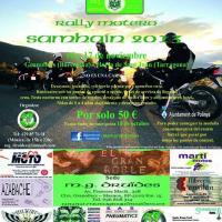 Rally motero Samhaín 2013