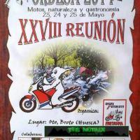 XXVIII Reunión Turística de motos Ordesa 2014